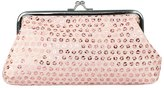 Micom Retro Printing Canvas Cute Kiss-lock Clutch Coin Purse Wallet for Women,girls
