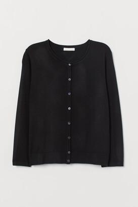 H&M Fine-knit Cardigan