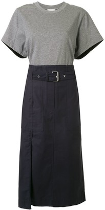 3.1 Phillip Lim belted cargo T-Shirt dress