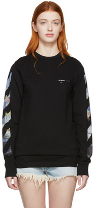 Off-White Black Diag Arrows Long Sleeve T-Shirt