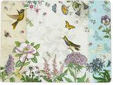 Asstd National Brand Manorcraft by Pimpernel Botanic Hummingbird Set of 4 Cork-Backed Placemats