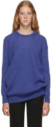 Max Mara Blue Relax Knitted Sweater
