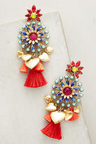 Elizabeth Cole Hothouse Drop Earrings
