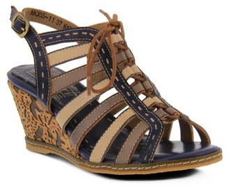 Spring Step L'artiste By Quinne Wedge Sandal