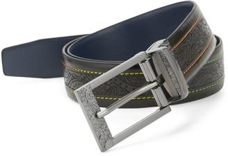 Robert Graham Cisco I Reversible Leather Belt