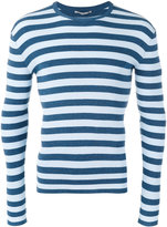 Ermanno Scervino striped jumper - men - Cotton - 50