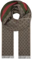 Gucci Wool-silk Blend Scarf