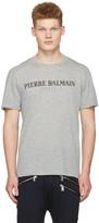 Pierre Balmain Grey Logo T-shirt