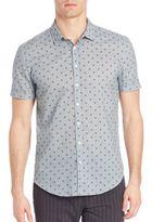 John Varvatos Classic-Fit Casual Button-Down Shirt