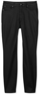 INC International Concepts Inc High-Rise Coated Skinny Jeans, Created for Macy's