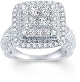 FINE JEWELRY LIMITED QUANTITIES 2 1/2 CT. T.W. Diamond 14K White Gold Ring