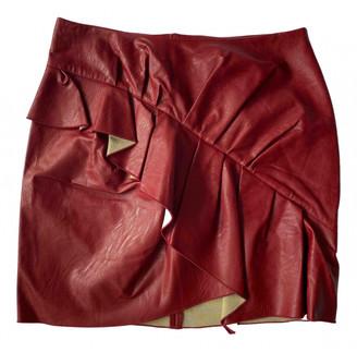 Etoile Isabel Marant Burgundy Synthetic Skirts