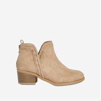 Joe Fresh Kid Girls' Braided Boots, Taupe (Size 13)