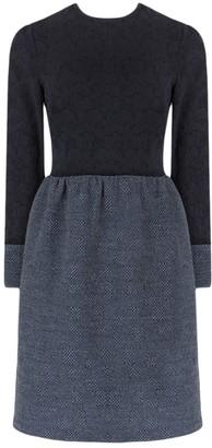 The Row Blue Wool Dresses