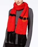 Collection XIIX Santa Fringe Knit Scarf
