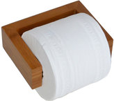 Houseology Wireworks Bamboo Toilet Roll Holder