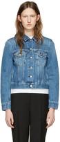 Acne Studios Blue Denim Top Jacket