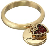 Marc Jacobs MJ Coin Charm Ring