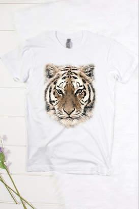 Color Bear Tiger Face Tee