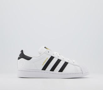 adidas Superstar Trainers White Black Vegan