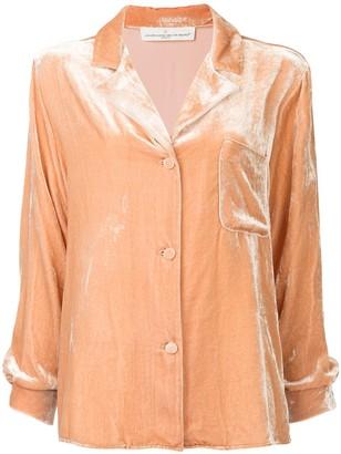Golden Goose velvet pyjama shirt