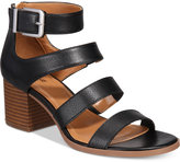 Style&Co. Style & Co Women's Naomii Block-Heel Sandals, Created for Macy's Women's Shoes