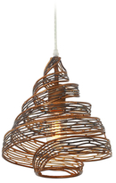 Varaluz Recycled 1-Light Flow Wrapped Mini Pendant