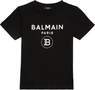 Balmain Kids Logo T-Shirt (4-16 Years)