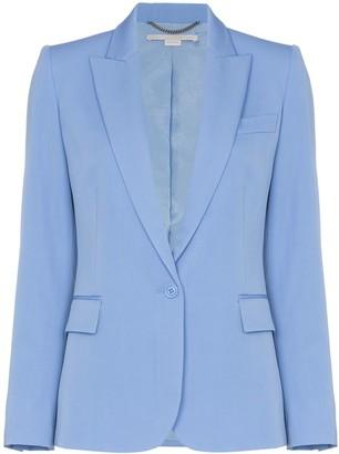 Stella McCartney Padded Shoulder Fitted Blazer Jacket