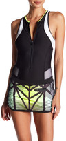 MPG Sport Plunge One-Piece Swimsuit