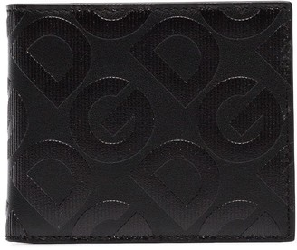 Dolce & Gabbana embossed leather bifold wallet