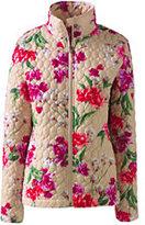 Lands' End Women's Tall Packable Primaloft Jacket-Mariners Paisley
