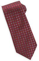 Roundtree & Yorke Diamond Neat Traditional Silk Tie