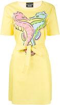 Moschino printed dress - women - Cotton/other fibers - 38