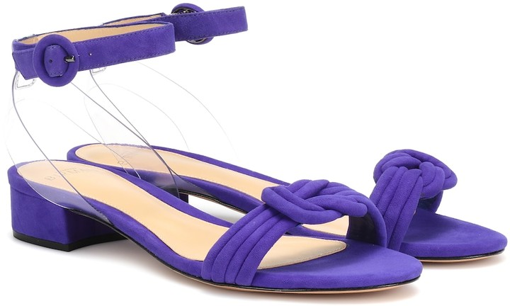 size 40 2fd97 baccd Bright Purple Sandals - ShopStyle