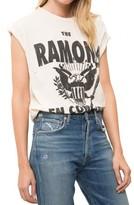 Madeworn Rock The Ramones En Concert Tee