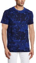 G Star Men's Boyrap Crewneck Short Sleeve Tees Blue