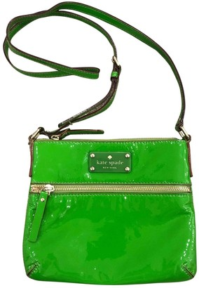 Kate Spade Green Patent leather Handbags