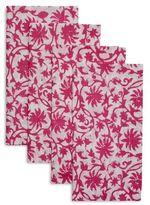 Sur La Table Tropical Floral Napkins, Set of 4
