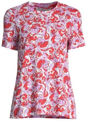 Trina Turk Sommerset Floral T-Shirt