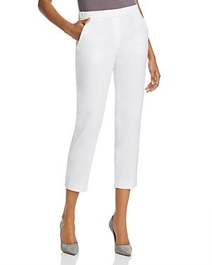 Theory Treeca 'Good Linen' Pull-On Pants