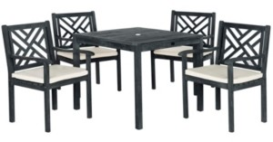 Safavieh Bradbury 5pc Outdoor Dining Set