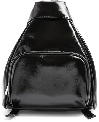 Topshop Mini Sophia Faux Leather Backpack