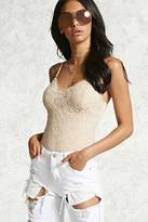Forever 21 Contemporary Lace Cami Bodysuit