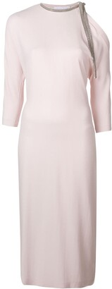 Fabiana Filippi Tie Neck Sweater Dress