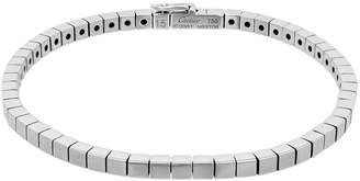 Cartier Estate 18K White Gold Lanieres Bracelet