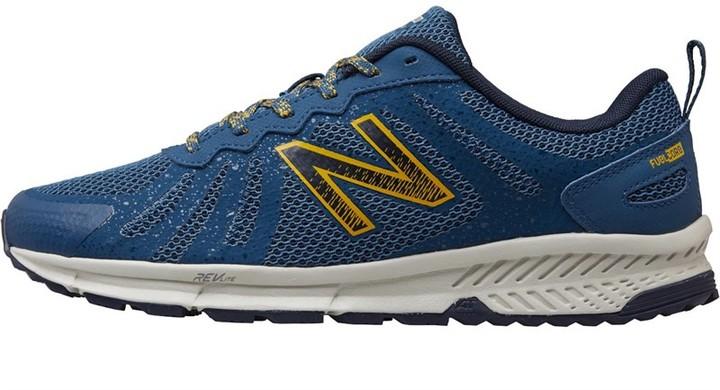 Mens MT590 V4 Trail Running Shoes BlueYellow