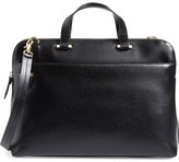 Lodis Medium Jamie RFID Leather Briefcase