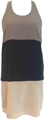 Richard Nicoll Grey Silk Dress for Women