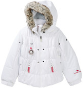Obermeyer Juniper Jacket with Faux Fur Trim (Toddler & Little Girls)
